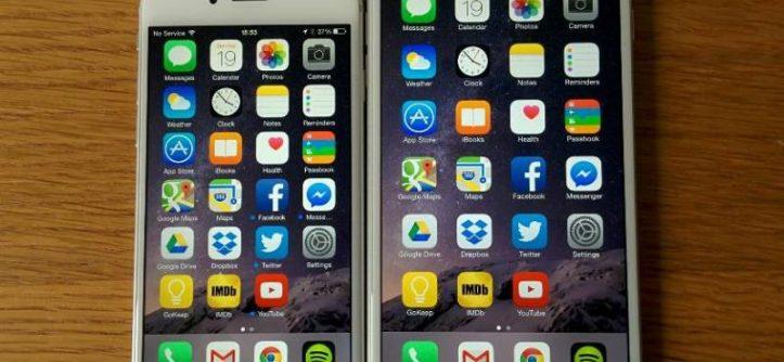iPhone 6 vs iPhone 6 Plus