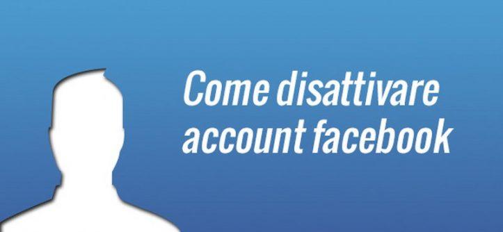 facebook account disattivato temporaneamente